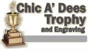 Chic-A-Dees Trophy & Fond Memories Eng - Overland park, ks    Kansas city, mo   awards  plaques   corporate awards trophies  crystal   name tags   name plates   medals
